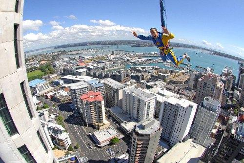 Sky Tower Sky Jump Auckland Sky Tower