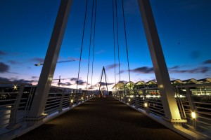 Viaduct Harbour Drawbridge