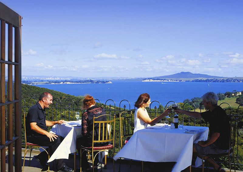 Auckland Guide - Waiheke Island Picturesque Dining